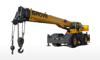 55 T Rough Terrain Cranes