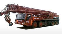 65 T Truck Mounted Cranes